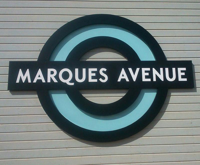 L'enseigne Marques Avenue